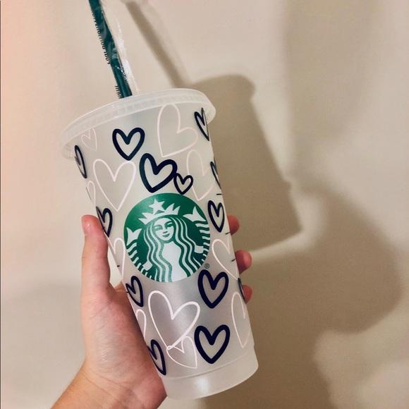 Custom Starbucks Water tumbler